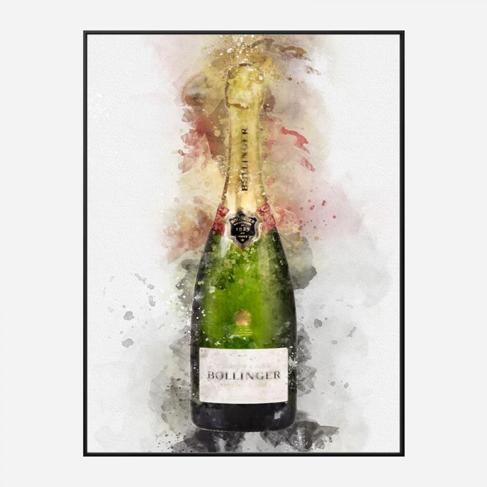 champagne art